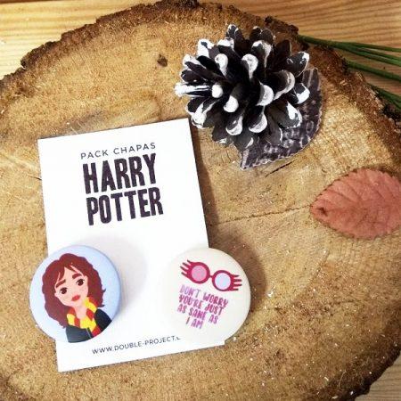 Pack Chapas Harry Potter 6 | Double Project