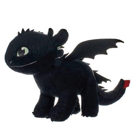 mo entrenar a tu dragón 3 Peluche Desdentado brilla en la oscuridad 32 cm | Double Project