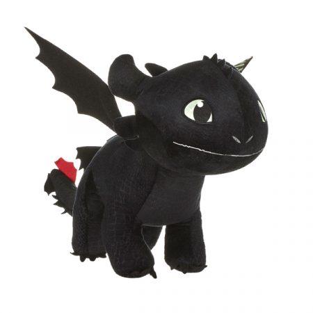 Cómo entrenar a tu dragón 3 Peluche Desdentado brilla en la oscuridad 60 cm   Double Project