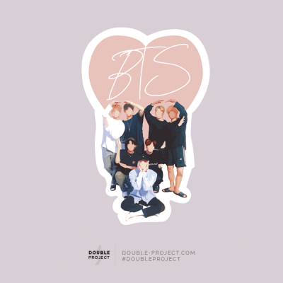 BTS Sticker Grupo | Double Project