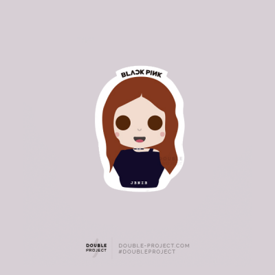 BlackPink Sticker Jenie | Double Project