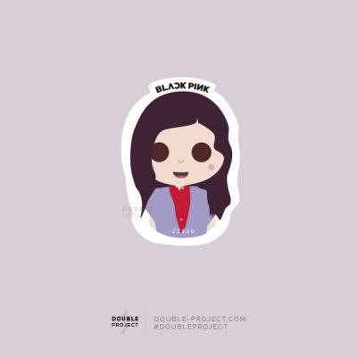 BlackPink Sticker Jisoo | Double Project