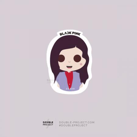 BlackPink Sticker Jisoo | Double Project