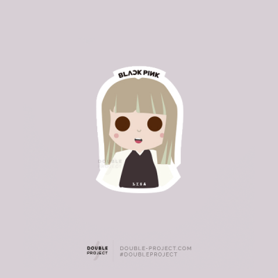 BlackPink Sticker Lisa | Double Project