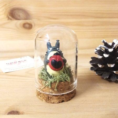 Montaje cristal Totoro con Mariquita | Double Project