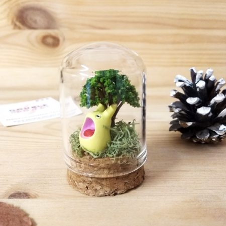 Montaje cristal Chibi Totoro | Double Project