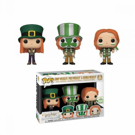 Harry Potter POP Fred, George, Ginny Exclusive Eccc 2019 | Double Project