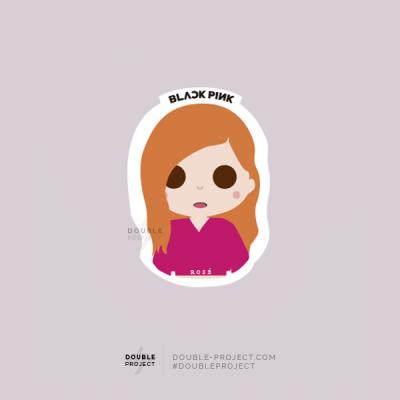 BlackPink Sticker Rosé   Double Project