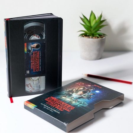 Stranger Things libreta PREMIUM a5 Simulación VHS | Double Project