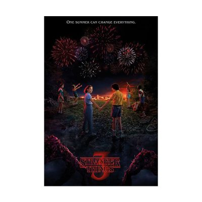 Stranger Things Póster One Summer | Double Project