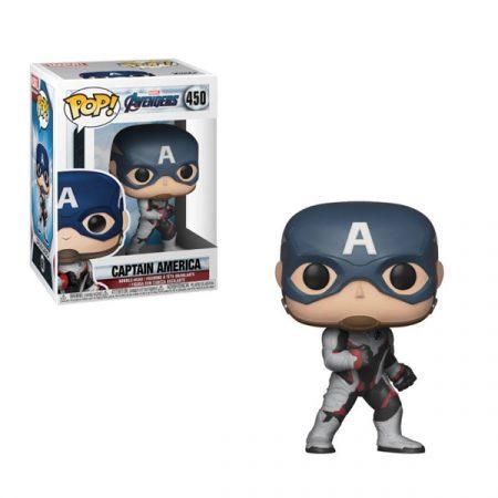 Vengadores Endgame POP Captain America   Double Project