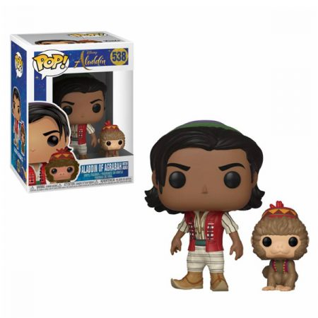 Disney Aladdin POP Aladdin & Abu | Double Project
