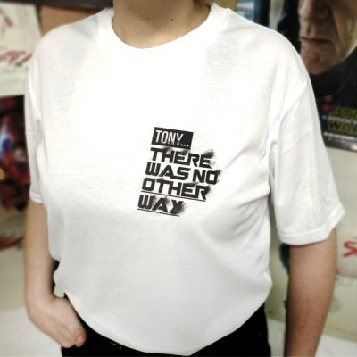 Camiseta Tony There Was No other Way | Double Project
