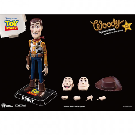 Toy Story Figura Dynamic 8action Heroes Woody | Double Project