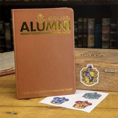 Harry Potter Set Libreta y pegatinas Alumni Hogwarts | Double Project