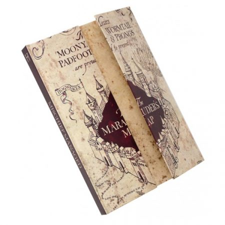 Harry Potter Libreta A5 Mapa del Merodeador | Double Project