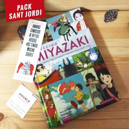 Libro Mi vecino Miyazaki Edición Definitiva + Punto de libro totoro | Double Project