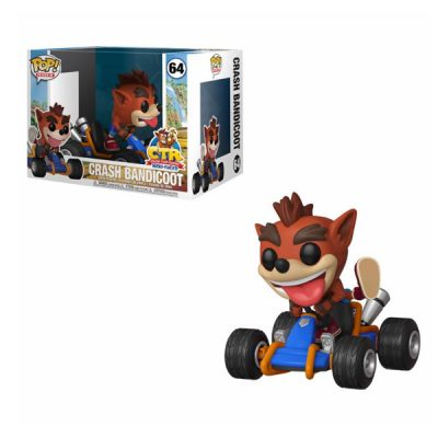 Crash Team Ragin POP Rides Crash Bandicoot | Double Project