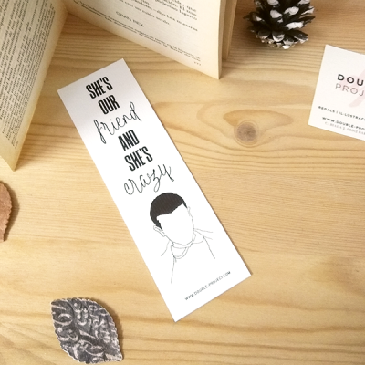 Punto de libro She's our friend | Double Project