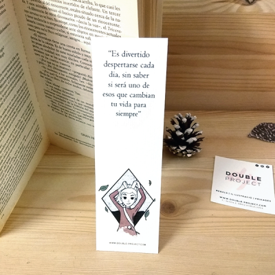 Punto de Libro Es divertido despertarse | Double Project