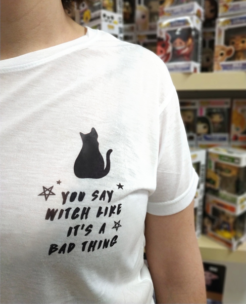 Camiseta You Say With Like it's a bad Thing Double Project