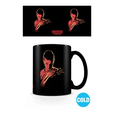 Stranger Things Taza sensitiva al calor Woods Eleven | Double Project