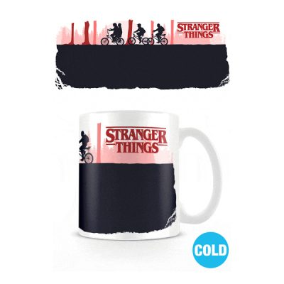 Stranger Things Taza sensitiva al calor Upside Down | Double Project