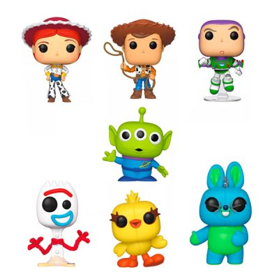 Disney Pack Total Toy Story 4 POP | Double Project