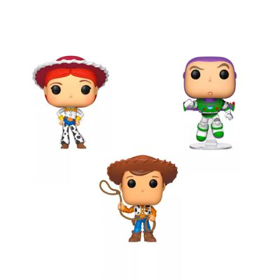Disney Pack Toy Story 4 POP Buzz + Woody + Jessie | Double Project