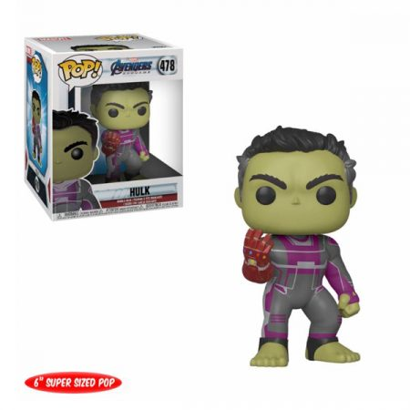Marvel Vengadores Endgame POP Oversized Hulk | Double Project