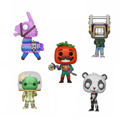 Fortnite POP Pack Llama, DJ Yonder, PANDA, Leviathan y TOmatohead | Double Project