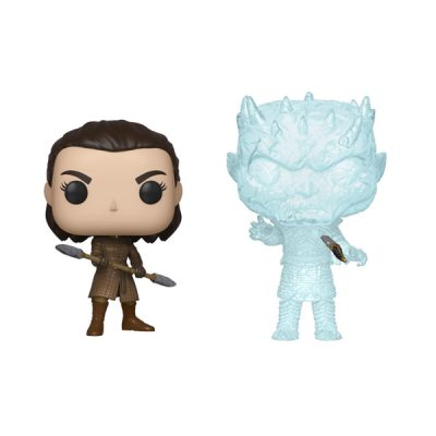 Juego de Tronos Pack POP Arya & Crystal Night King | Double Project
