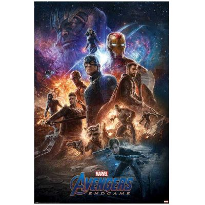 Marvel Avengers Endgame Póster From the Ashes | Double Project