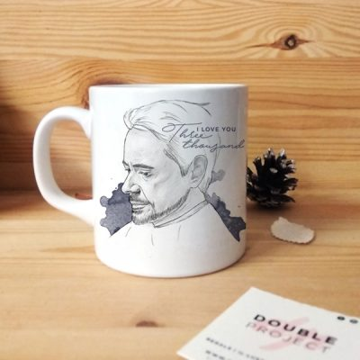 Taza I love you 3000   Double Project