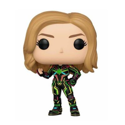 Marvel POP Captain Marvel with Neon Suit | Double Project