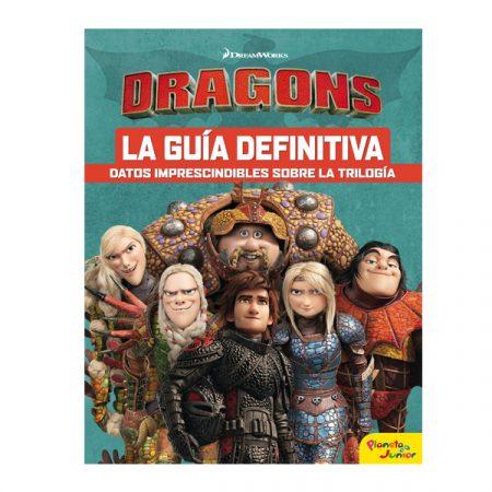 Libro Cómo entrenar a tu dragón La Guía Definitiva | Double Project
