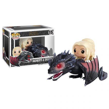 Juego de Tronos POP Rides Daenerys Drogon   Double Project