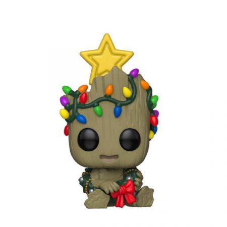 Marvel POP Marvel Holiday Groot | Double Project