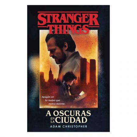 Novela Stranger Things A oscuras en la ciudad | Double Project