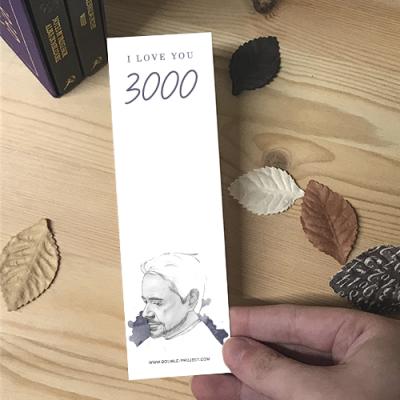 Punto de Libro I love you 3000 - Double Project