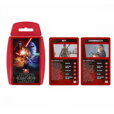 Cartas Top Trump Star Wars The Force Awakens | Double Project