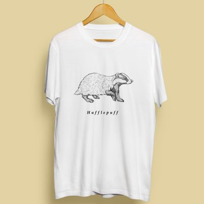 Camiseta Tejón Hufflepuff   Double Project