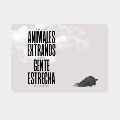 Alfombrilla ratón Animales extraños | Double Project