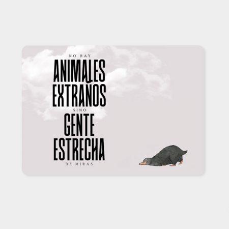 Alfombrilla ratón Animales extraños | Double Project