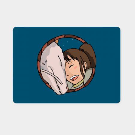 Alfombrilla ratón Chihiro & Haku | Double Project