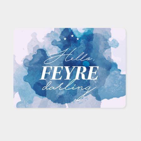 Alfombrilla ratón Hello Feyre | Double Project