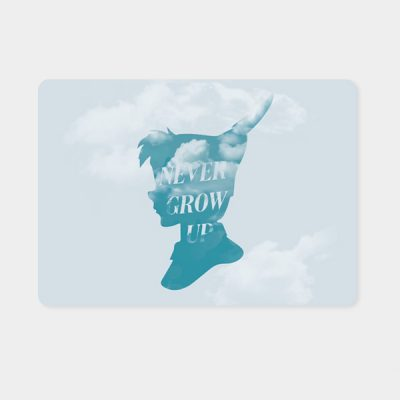 Alfombrilla ratón Never Grow Up | Double Project