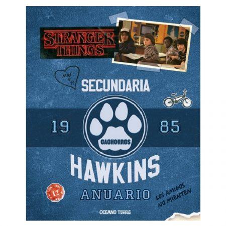 Libro Anuario de la escuela Hawkins   Double Project