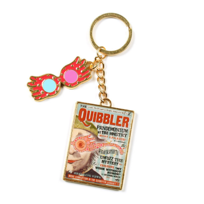 Harry Potter llavero Quibbler Luna Lovegood | Double Project