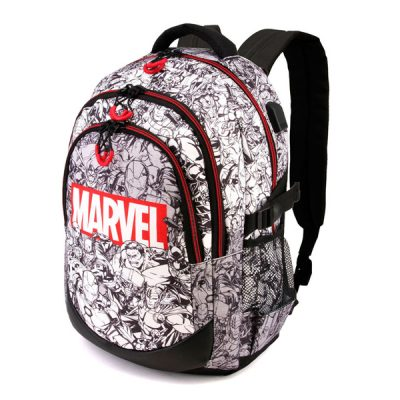 Marvel Mochila logo Marvel adaptable | Double Project